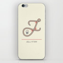 Ahoy! Letter J iPhone Skin