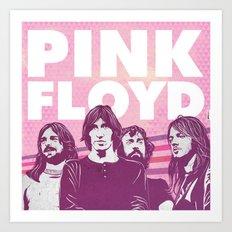 Pink Floyd Art Print