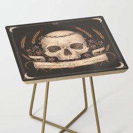 Memento Mori Side Table