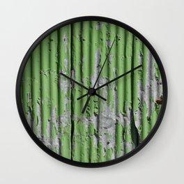 Urban green Wall Clock
