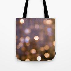 Bokeh Rain Tote Bag