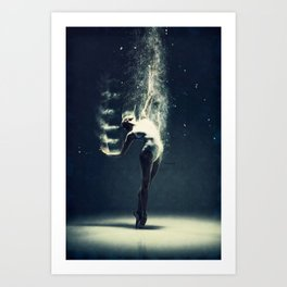 Dancer's soul... Art Print