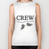 animal crew Biker Tanks featuring Crew by Cs025