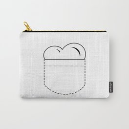 Close to my Heart, Pocket Love - White Carry-All Pouch