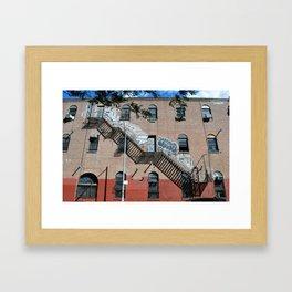 Williamsburg Brooklyn Building Framed Art Print