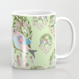 Love is in the air Spring Birds 06 Coffee Mug