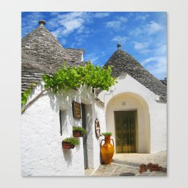 Alberobello Canvas Print