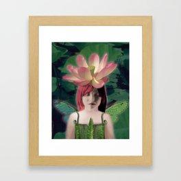 Lotus Dreamer Framed Art Print