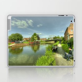 Hungerford Wharf Fishing Laptop & iPad Skin