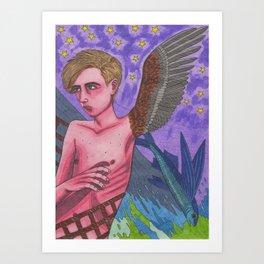 Wingboy Art Print