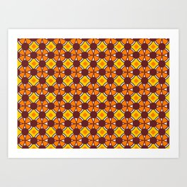 Orange-Yellow Cloves Art Print
