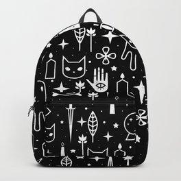 Spirit Symbols Black Backpack