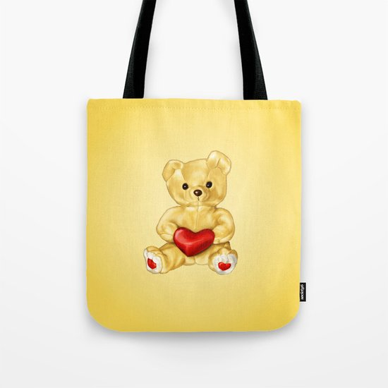 Teddy Bear Hypnotist Tote Bag