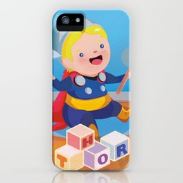 Baby Thor iPhone Case