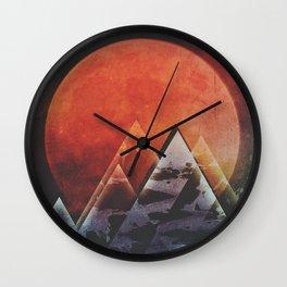 Fractions B10 Wall Clock