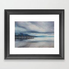 reflections in the water ...  Framed Art Print