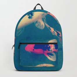 Lie a fish in the pound Backpack