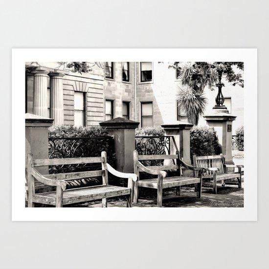 Be Seated Art Print