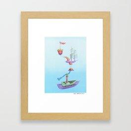 Setting Sail Framed Art Print