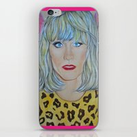 jared leto iPhone & iPod Skins featuring Jared Leto as RAYON by Jenn