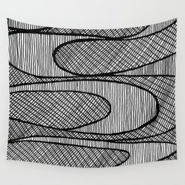 Lines Wall Tapestry