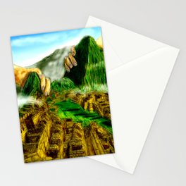 The Feel of the Lost World Stationery Cards