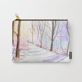 Winter Pastels Carry-All Pouch