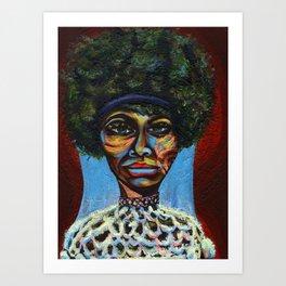 "Eunice ""Nina Simone"" Waymon Art Print"