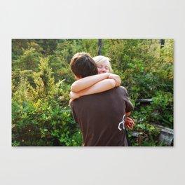 hug. Canvas Print