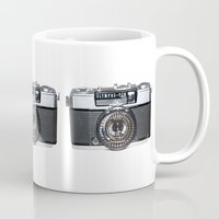 pen Mugs featuring OLYMPUS-PEN by Regan's World