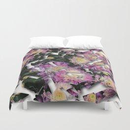 Shattered Floral Duvet Cover
