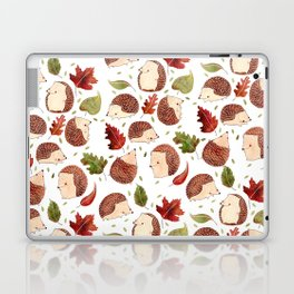 Autumn Hedgehogs Laptop & iPad Skin