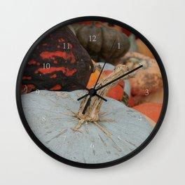 sublime squash Wall Clock