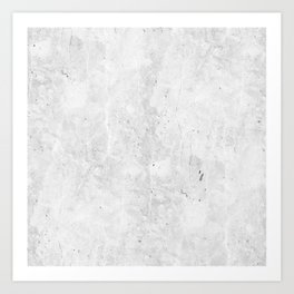 White Light Gray Concrete Kunstdrucke