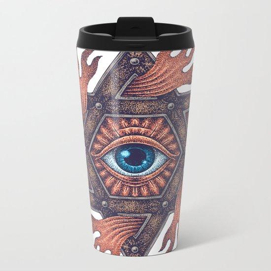 Inner gods Collection/01-rising star Metal Travel Mug