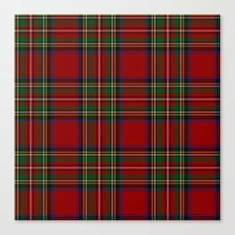 Royal Stewart Tartan Clan Canvas Print