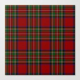 Royal Stewart Tartan Clan Canvas Print