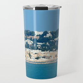 Breathtaking view of the city of Tunis from the sea Travel Mug