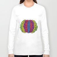 afro Long Sleeve T-shirts featuring Circus Afro! Circus Afro!  by Brieana