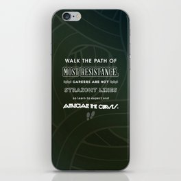 Path of Most Resistance iPhone Skin