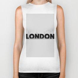 London Biker Tank