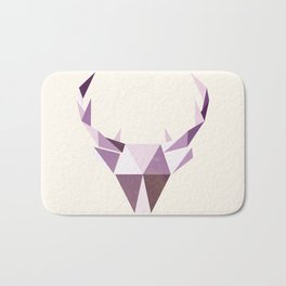 Polydeer in Space Bath Mat