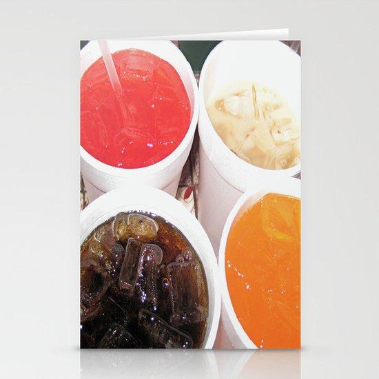 Soda Fountain Stationery Cards
