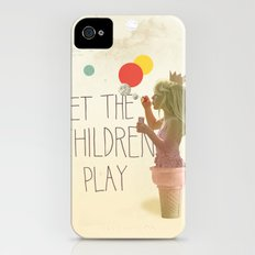 Let the children play iPhone (4, 4s) Slim Case