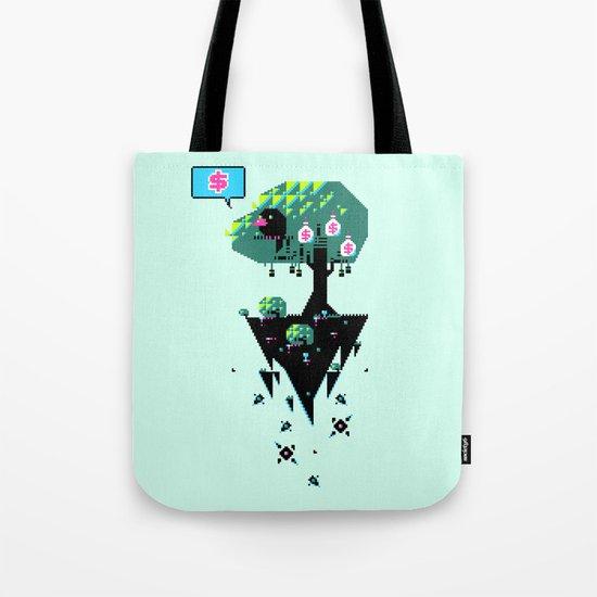 Greedy Grackle Tote Bag