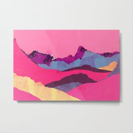 Candy Mountain Metal Print