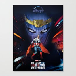 Falcon and The Winter Soldier Canvas Print