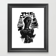 The curse of Mutilated Mummy Framed Art Print