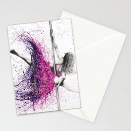 Dance Expression Stationery Cards