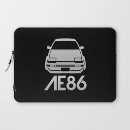 Toyota AE86 Hachi Roku - silver - Laptop Sleeve